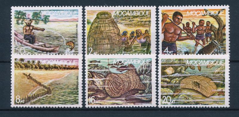 [49495] Mozambique 1983 Traditional fishing MNH
