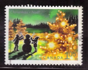 Canada Scott 1924 Used stamp Christmas 2001