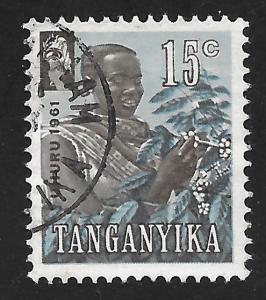 Tanganyika #47 15c Coffee Picker