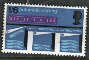 Great Britain Scott #609 SG #811