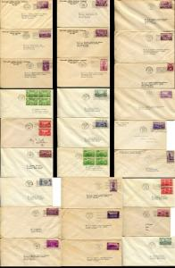 USA #773-777 782-795  FDC First Day Issue Cover Stamps Postage Cachet Collection