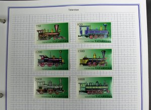 Mystic Voyager Worldwide Stamp Albums Two Volumes with Some Stamps