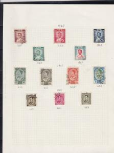 thailand stamps page ref 16896