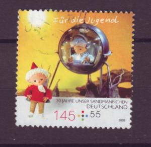 J20631 Jlstamps 2009 germany hv of set used #b1023 sandman tv show