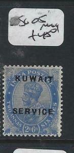 KUWAIT   (PP2704B) ON  INDIA KGV  SERVICE  2A 6P   SG O5      MOG