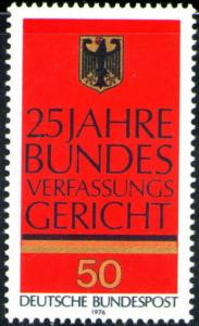 Germany Scott 1208 MNH** 1976 German Eagle stamp