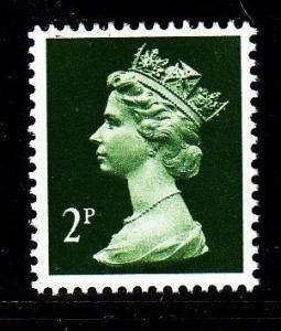 Great Britain - #MH27 Machin Queen Elizabeth II - MNH