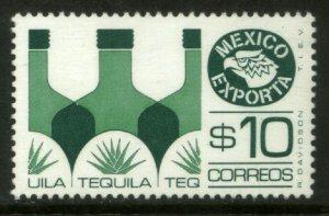 MEXICO Exporta 1174, $10P Tequila Wmkd Fosfo Paper 2 MINT, NH. VF.