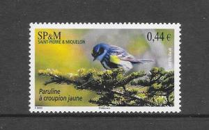 BIRDS - ST PIERRE #840  MNH