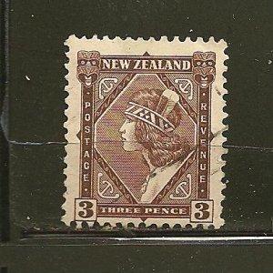 New Zealand 190 Maori Girl Used