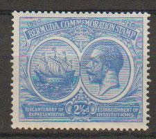 Bermuda SG 66  Mint  Hinged - good centering
