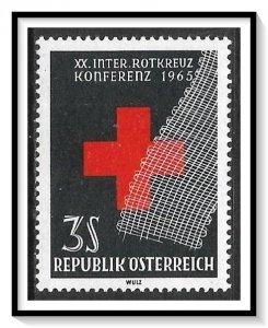 Austria #752 Red Cross MNH