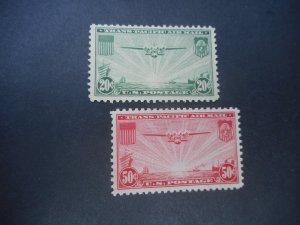 U..S. #'s C 21 & C 22  VFNH