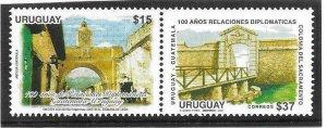 2007    URUGUAY  -  SG. 3069 / 3070  -  BRIDGES  -  MNH
