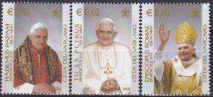 Vatican City #1295-7 MNH CV $5.25 (Z2643)