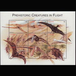 LESOTHO 1998 - Scott# 1119 Sheet-Dinosaurs NH