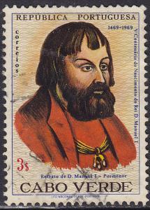 Cape Verde 358 USED 1969 King Manuel I