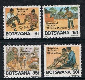 BOTSWANA 1987 TRADITIONAL MEDICINE