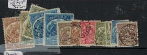 Chile Lot of 14 Telegraph Stamps VFU (6ext)