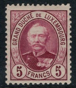 Luxembourg #69*  CV $29.00