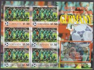 2006 Grenada 5715KL 2006 FIFA World Cup Germany( Ivory Coast)) 9,00 €