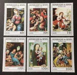 Benin 1996 #836-41, MNH, CV $5.15
