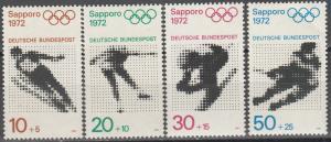 Germany #B472-5   MNH CV $2.80