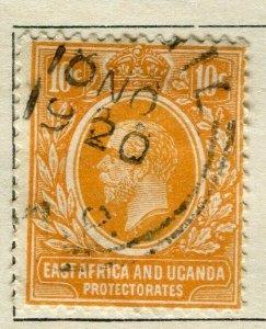BRITISH KUT; 1912 early GV issue fine used 10c. value