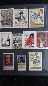 World Exhibition, Convention, Stamp Show, Poster, Label stamp Collection LOT #Q4