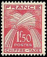 France - J73 - MNH - (Penciled Back) - SCV-0.45