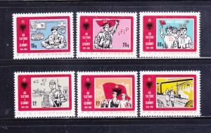 Albania 2112-2117 Set MH Various