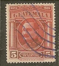 Guatemala  Scott  238    General    Used