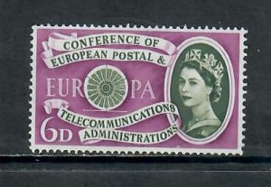 G.B 1960 COMMEMORATIVES  SET POSTAL TELECOMMUNICATIONS CONF M NH h 081220
