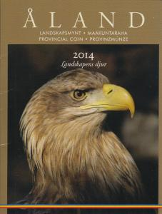 Aland 2014 Stamp and Provincial Coin Presentation Set