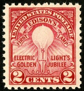 US Stamps # 654 MNH Superb