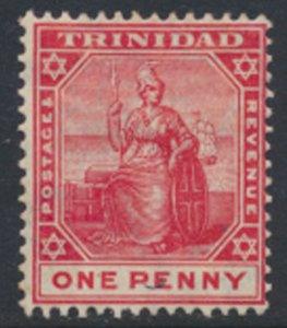 Trinidad SG 135 MLH  Black/ red  SC# 103 - see details & scans
