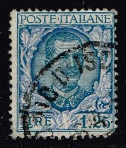 Italy #88 Victor Emmanuel III; used (0.35)
