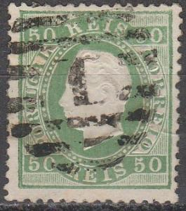 Portugal #42  F-VF Used CV  $40.00  (A16435)