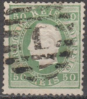 Portugal #42  F-VF Used CV  $40.00  (A16435)