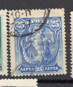 Crete 1905 Early Issue Fine Used 25l. NW-14364
