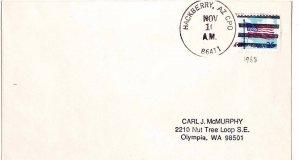 United States Arizona Hackberry CPO 86411 1988 4-bar  Philatelic.