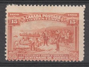 CANADA 1908 300TH ANNIVERSARY 15C