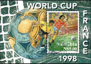 Namibia - 1998 World Cup MS Used SG MS806