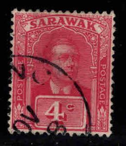 SARAWAK Scott 55 Used 1918 stamp nice cancel