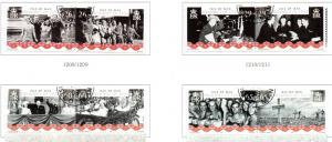 Isle of Man  Sc 1087-0 2005 World War II stamp set used