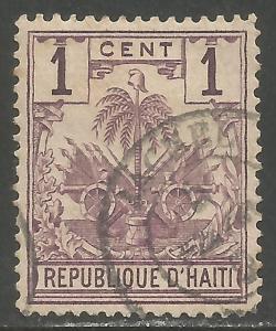 HAITI 32 VFU ARMS 1120A-1
