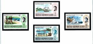 Solomon Is 176-79 MNH 1968 Anniversary of discovery of Solomon Is