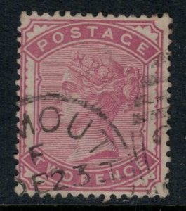 Great Britain #81  CV $100.00