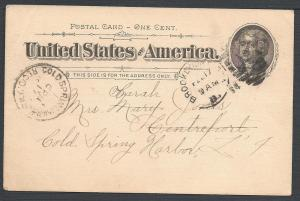 Scott UX12 (UPSS #S14), Early and Scarce Use, Postal Cards