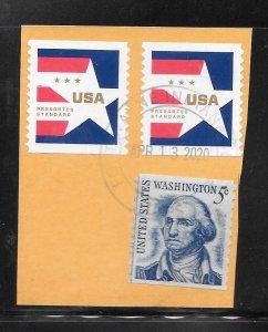 #Z1797 Used 10 Cent lot Postmark-Cancel Fort Wayne Indiana APR/13/2020
